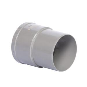 Pipelife hwa mof, pvc, inwendig lijm x verjongd spie, grijs, 80 mm foto leverancier